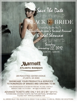 BlackBride.com 2nd Annual Bridal Show - 1/22/2012