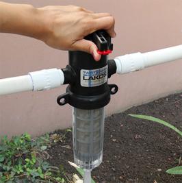 Lakos Twistiiclean Sediment Filter Wins Innovation Award