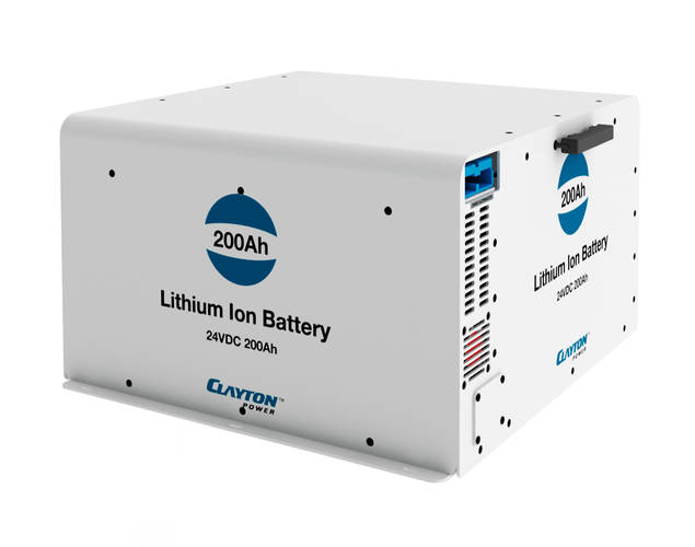 Lithium Ion Battery 24 volt - 200Ah