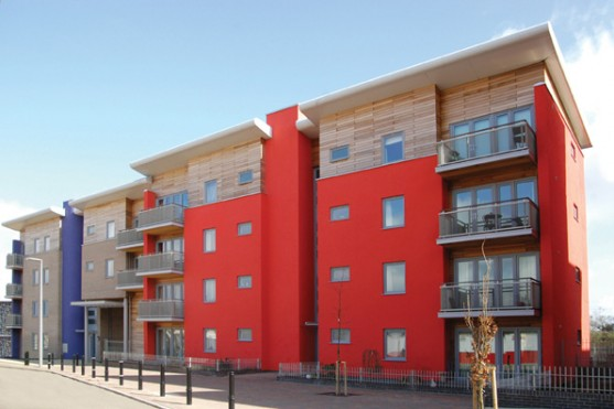 The apartments at OR