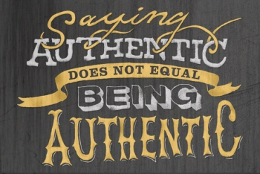 leadership -authenticity