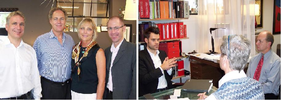 COR Executives visit Home Resource