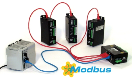 AMCI Modbus-TCP Stepper Indexer/Drives