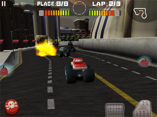 Tires of Fury Action Screenshot