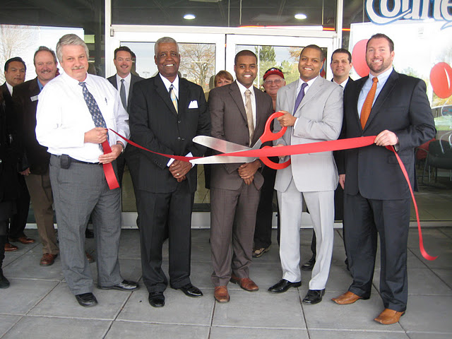 The grand opening of  Buick/GMC  in Crystal Lake