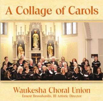 WCU Collage Of Carols Christmas CD recording