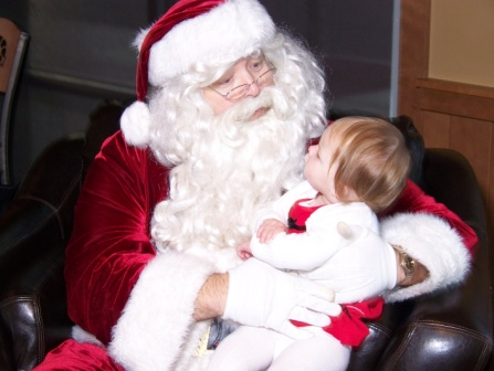 Santa with Child at The RAM for web