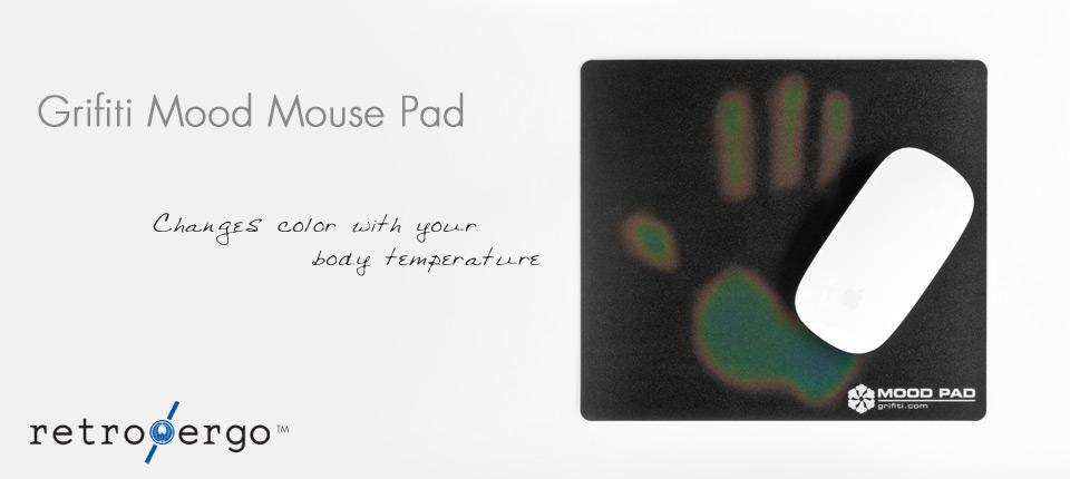 grifiti mood mouse pad