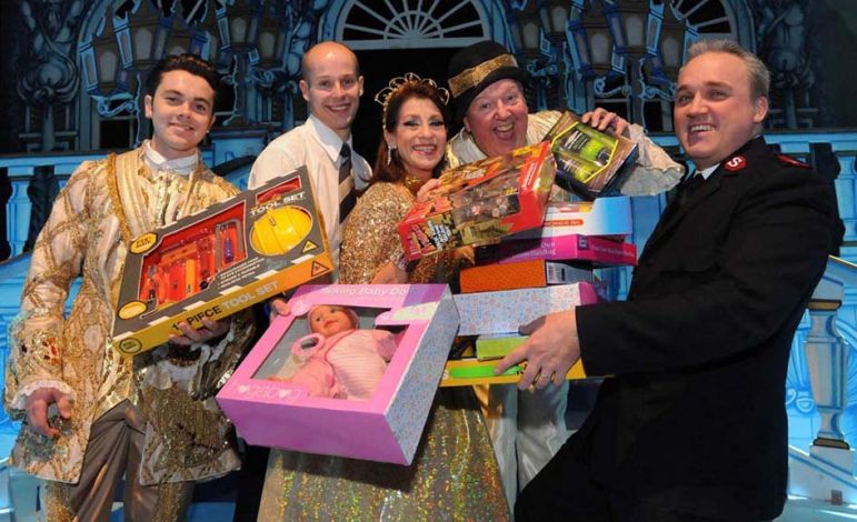 Panto stars help create a magical Christmas