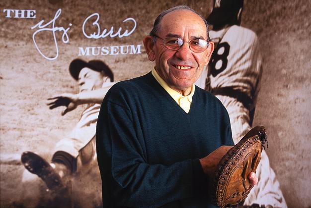 Yogi Berra photo courtesy Yogi Berra Museum