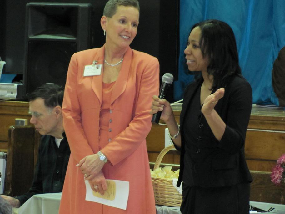JoAnn Davis & Deborah Reynolds Celebrate National