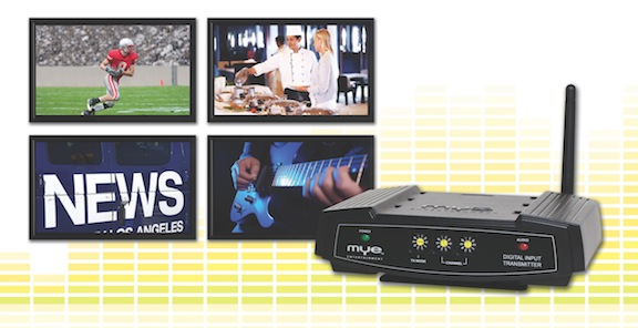 MYE Club TV Digital Input Transmitter