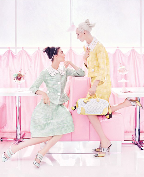 Louis Vuitton SS2012 Ad Campaign- Stylert