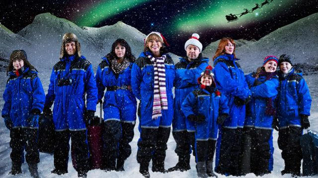 BBC Christmas drama 'Lapland' filmed at Chartridge
