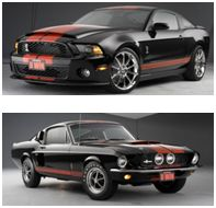 One person will win this pair of Shelby GT500s.