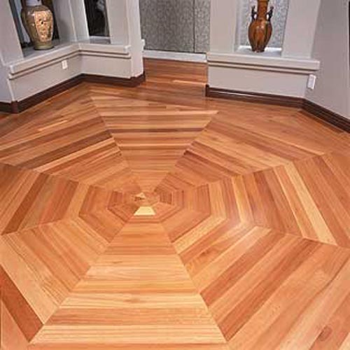 Acacia hand scraped for the home pinterest flooring for Cheap wood flooring ideas