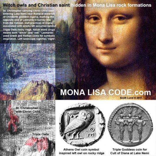 Witch Owls And Christian Saint Discovered In Mona Lisa ...