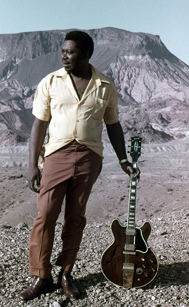 BB King with Lucille 1972