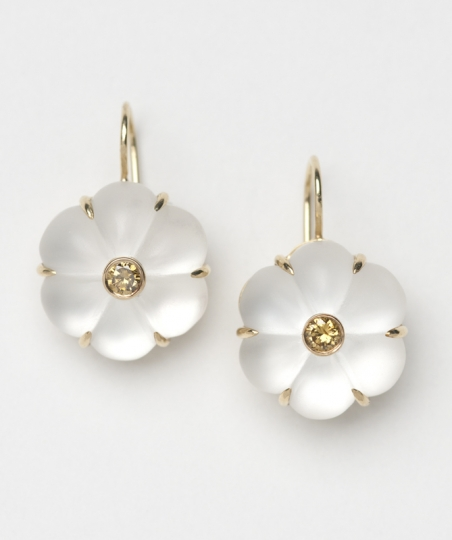 Large Fleur Earrings