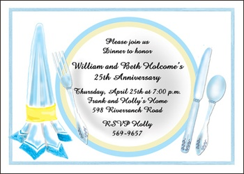 Wedding Anniversary Invites