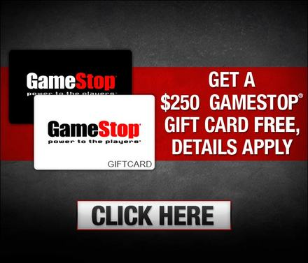 Gamestop free gift card / Fire it up grill