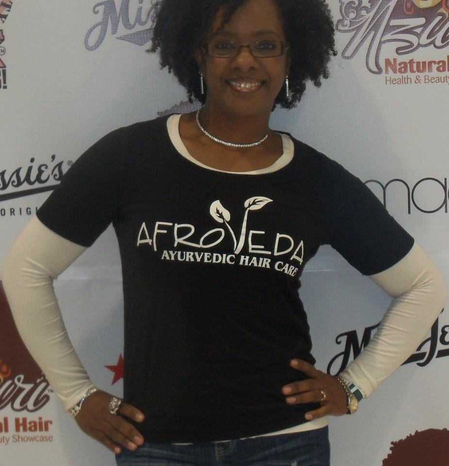 Mala Rhodes, CEO of AfroVeda Hair Products
