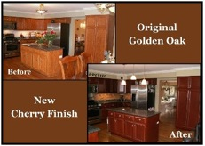 Cabinet refinishing Naperville