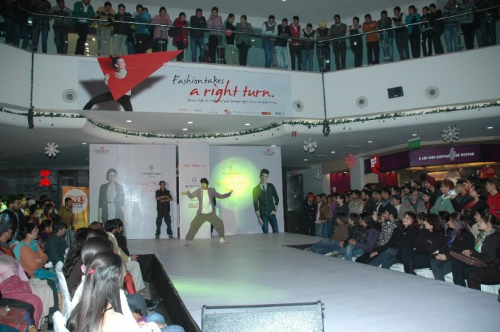 Fashion Show at AlphaOne