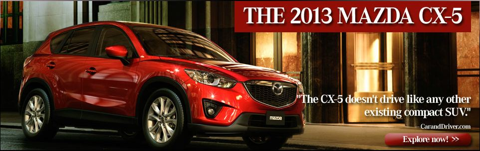 2013 Mazda CX-5 coming to Mazda of Cool Springs