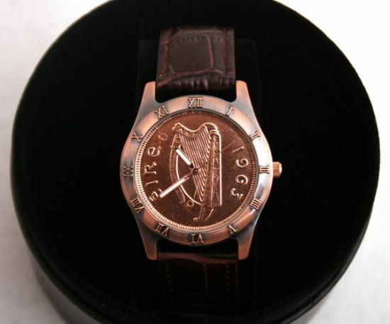 Irish Penny Watch/Gift/From Ireland -- Nigel Moffett | PRLog | 550 x 457 jpeg 49kB