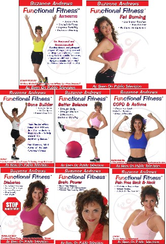 Doctor Recommended Functional Fitness DVDs
