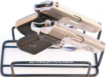 Armory Racks 2-Gun Handgun Rack