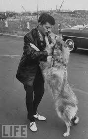 Frankie Avalon and Dog on Animal Radio®