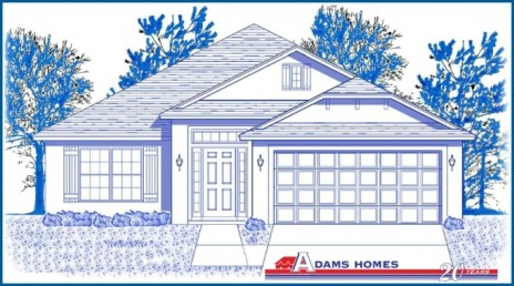 Adams Homes-2012 Tampa 1,820 Elevation
