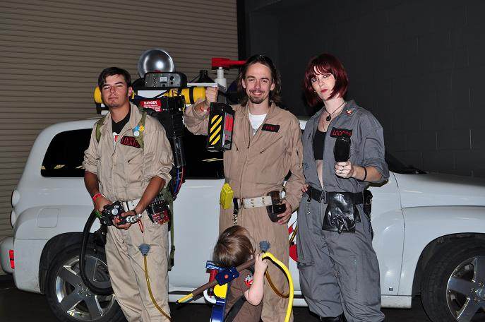 Ghostbusters - photo by Jamie Holt