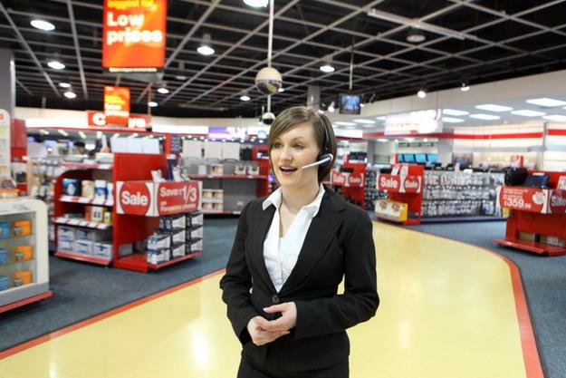 CST's new QD headset improves store communications