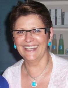 Eyebrow shaping expert Valentina Chistova