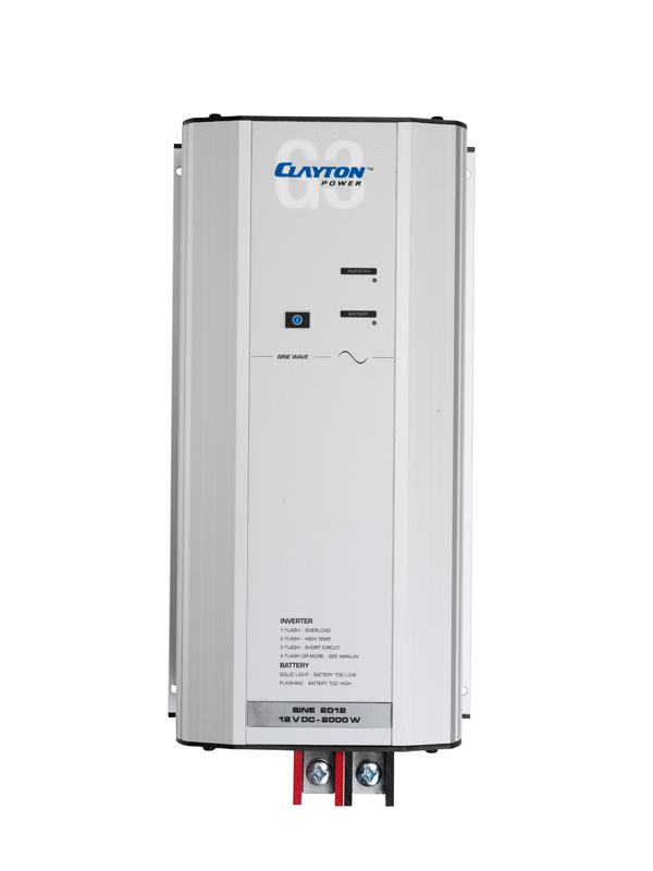 Sine Wave Inverter, G3 2012, 12V/230V/2000W