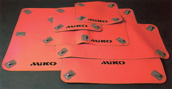 Miko magnetic patches of various sizes
