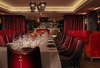 London hotels insight inspects the meeting rooms of the for Best private dining rooms central london