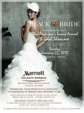 Black Bride Official Save-the-Date