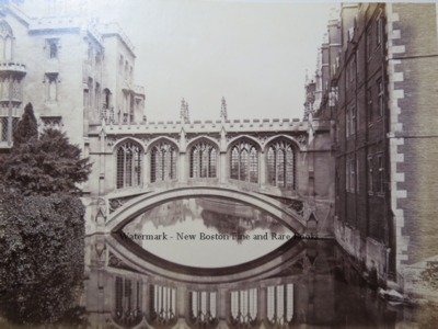 Cambridge University, Bridge of Sighs, St. john