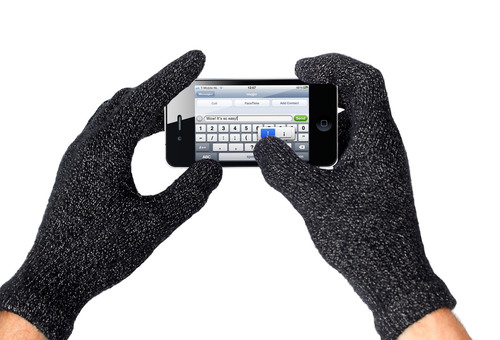 Mujjo Touchscreen Gloves  Texting