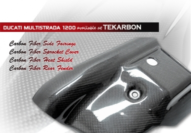 Ducati Multistrada 1200 Carbon Fiber Parts