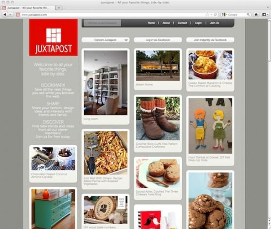 Juxtapost.com - social discovery platform