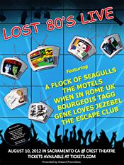 Lost 80's Live Sacramento