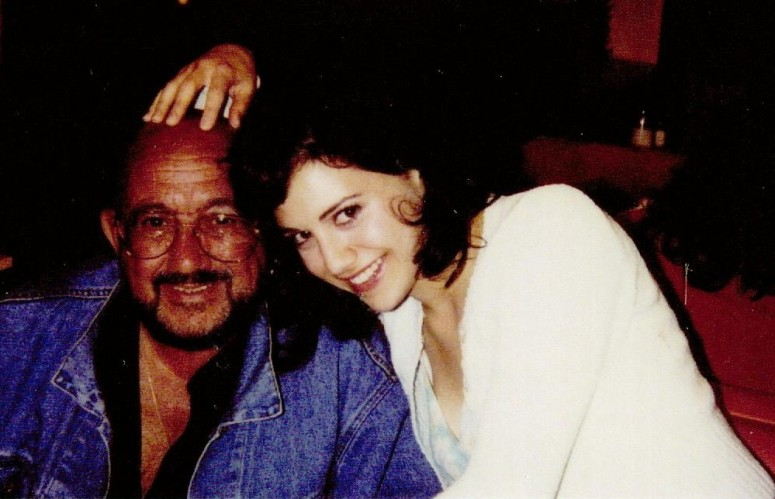 Plaintiff, Angelo Bertolotti, with his daughter