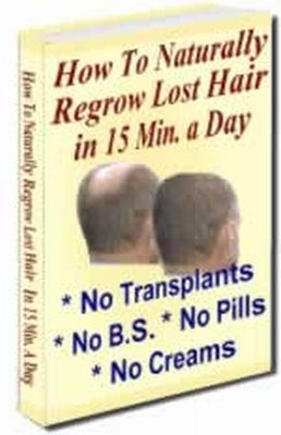 How To Naturally Regrow Lost Hair in 15 Minutes a Day PDF,Ebook ...