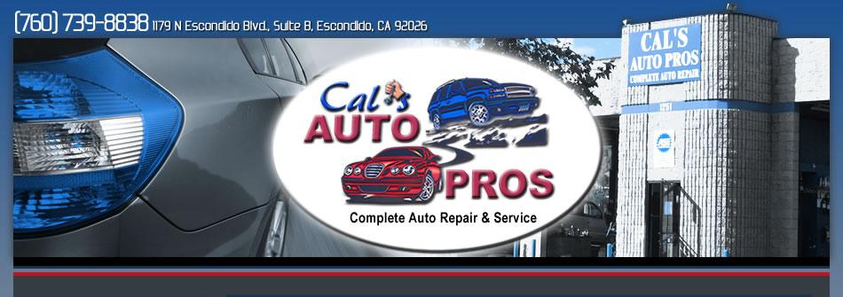 Escondido Auto Repair Cals Auto Pros