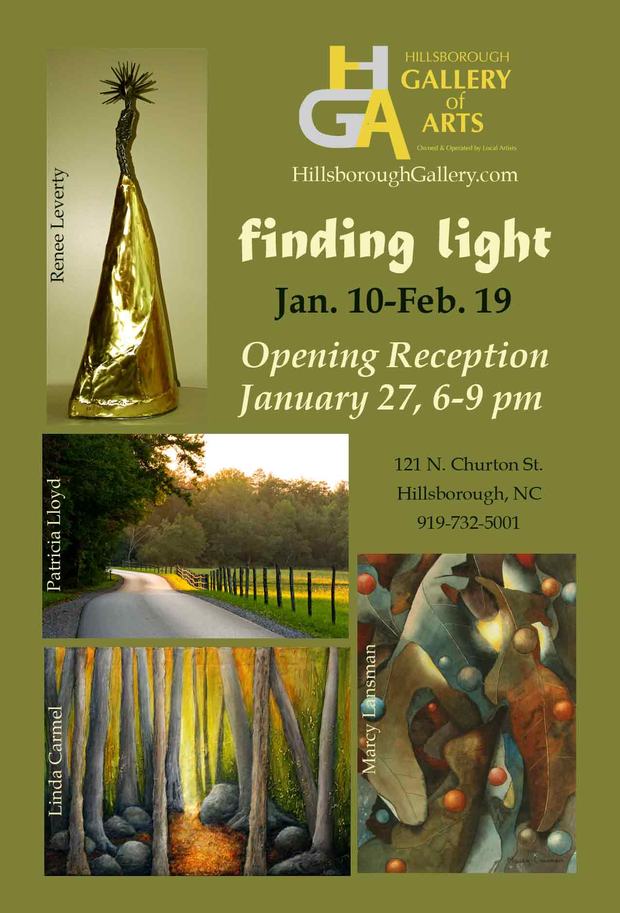 FINDING LIGHT - Hillsborough Gallery of Arts